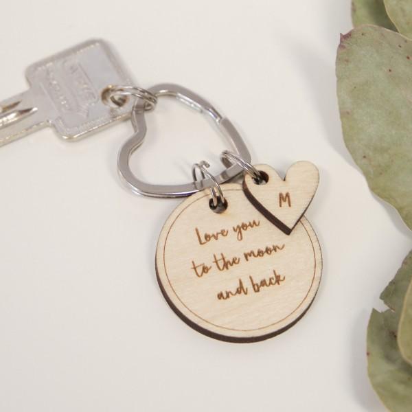 Dein Schlüsselanhänger – Wunschtext
