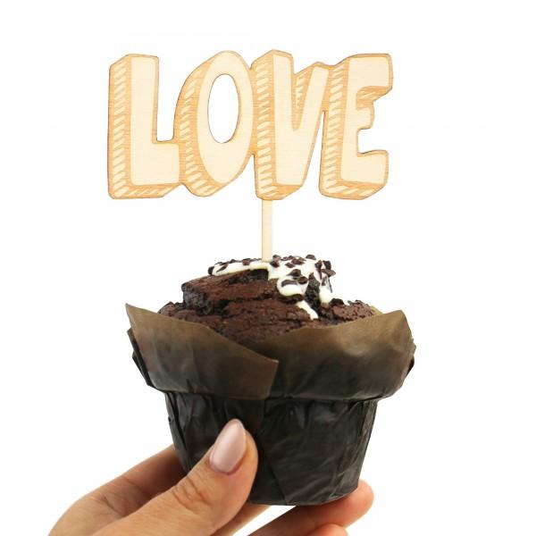 Cake Topper - Love 3D-Effekt