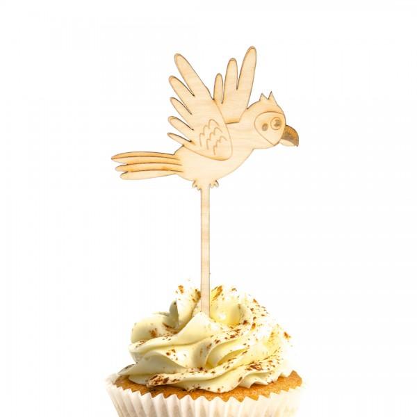 Cake Topper - Dschungel - Papagei