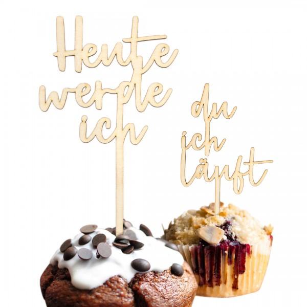 Cake Topper - 3 Zeilig - Wunschtext