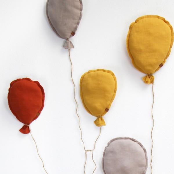 Musselin-Luftballons
