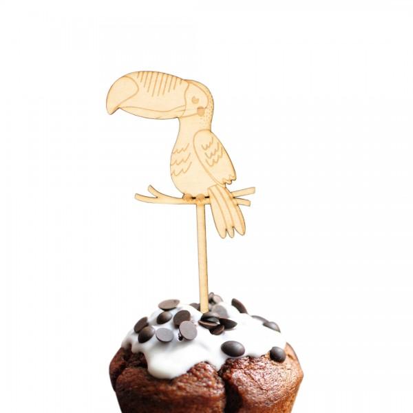 Cake Topper - Dschungel - Tukan