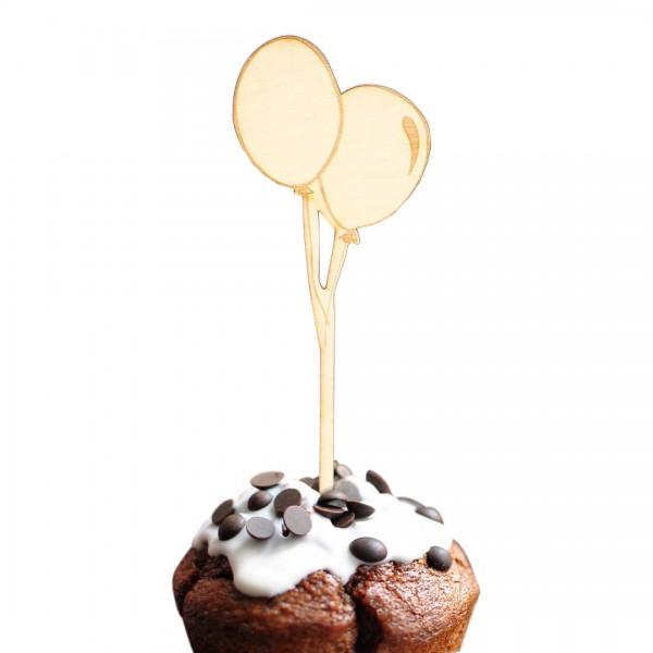 Cake Topper - Luftballons