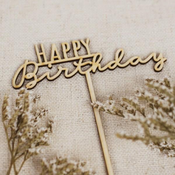 Cake Topper - Happy Birthday - Nr. 5