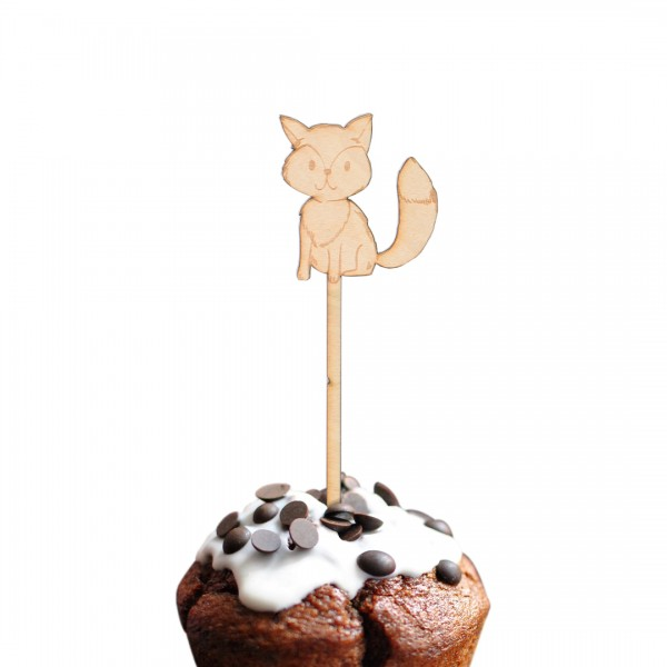 Cake Topper - Waldtiere - Fuchs