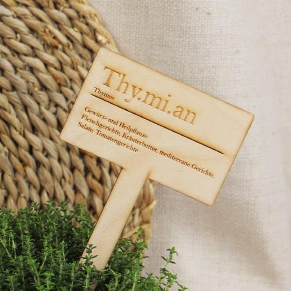 Kräuterstecker eckig, Thymian