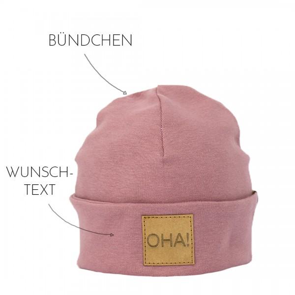 Deine Beanie - Wunschfarbe & Wunschtext