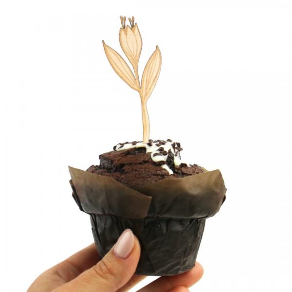 Cake Topper - Blumen - Wildblume 2