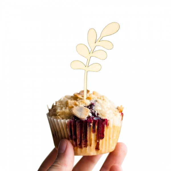 Cake Topper - Flora - Glücksfeder