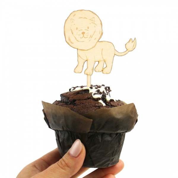 Cake Topper - Safaritiere - Löwe