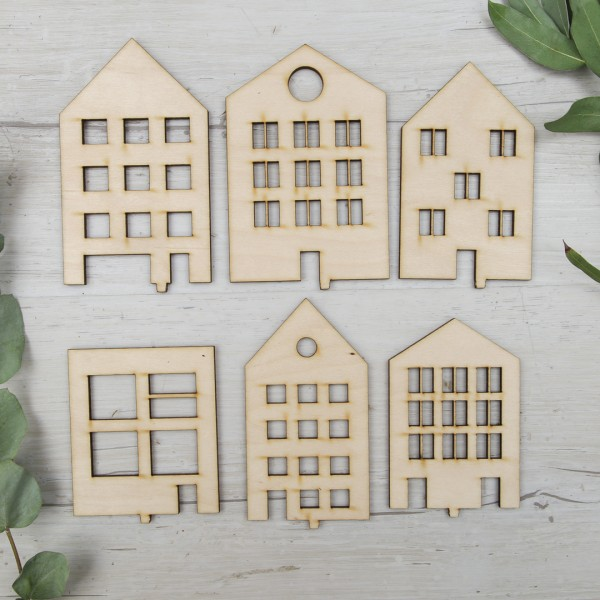 Lieblingsmotiv - Scandi Häuser
