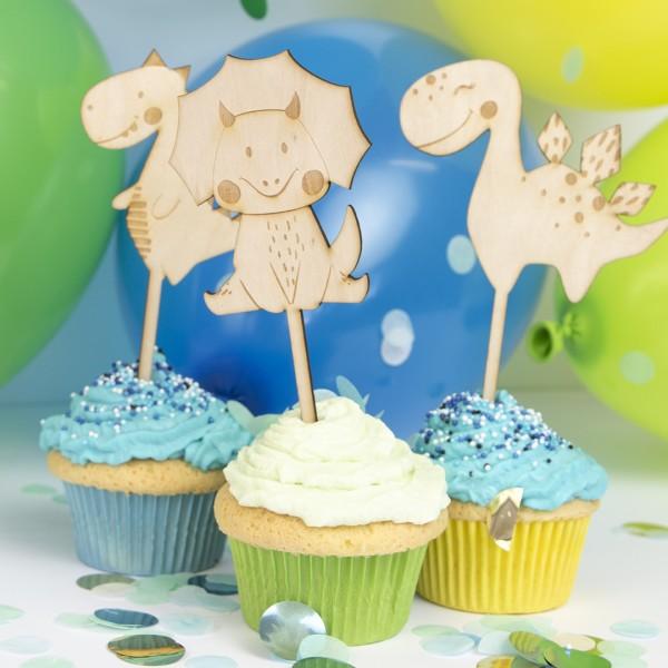 Wunschmotiv Dino - Cake Topper