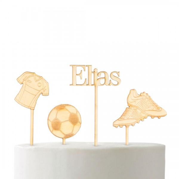 "Cake Topper - Set ""Fußball"""