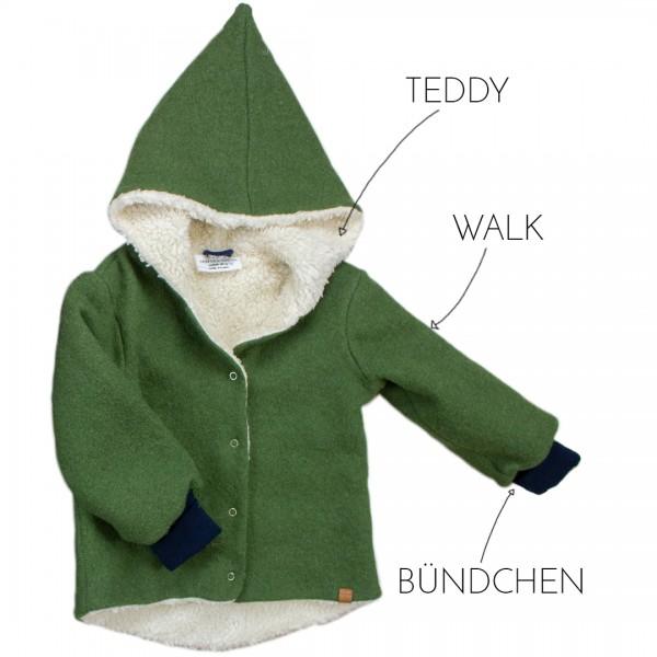 Deine Walkjacke Zipfelmütze - Wunschkombi Teddy