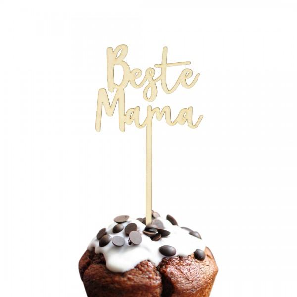 Cake Topper - Muttertag - Beste Mama