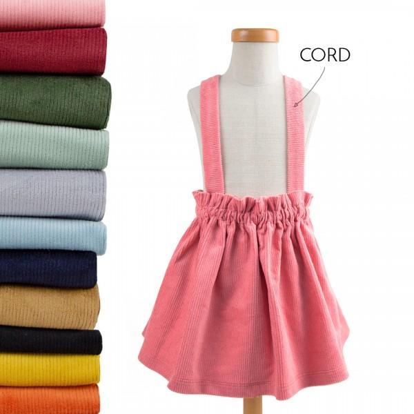 Dein Trägerrock - Wunschfarbe Cord