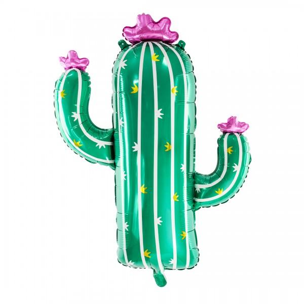 Folienballon Kaktus in grün