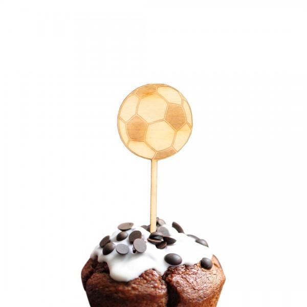 Cake Topper - Fußball - Ball