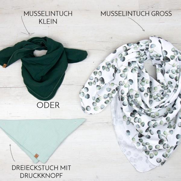 Dein Musselintuch 2er Set - Wunschkombi