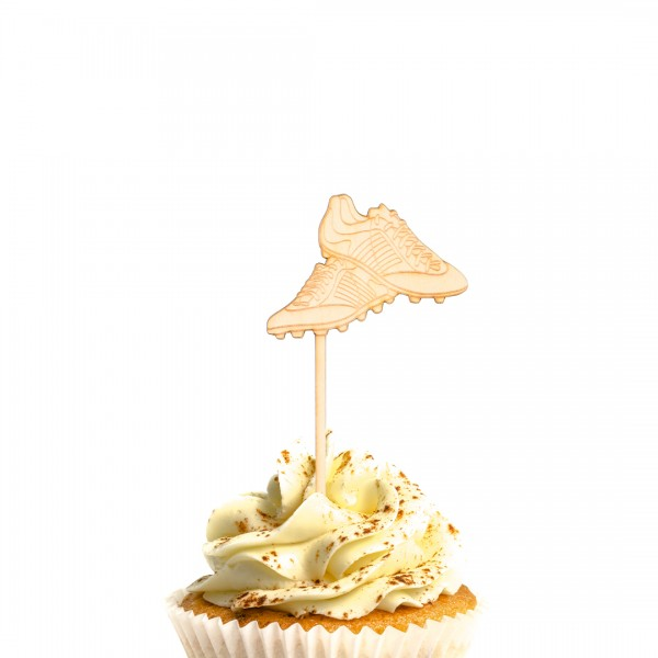 Cake Topper - Fußball - Schuhe