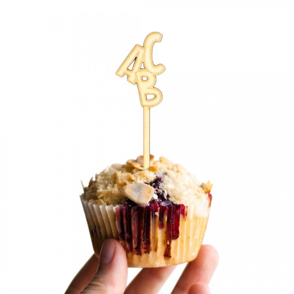 Cake Topper - Schulanfang - ABC