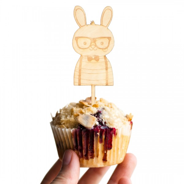 Cake Topper - Hipster Tier - Hase