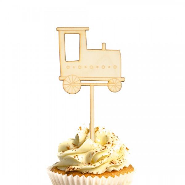 Cake Topper Lok auf Muffin