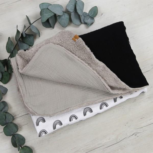 Babydecke - natural cotton - scandi