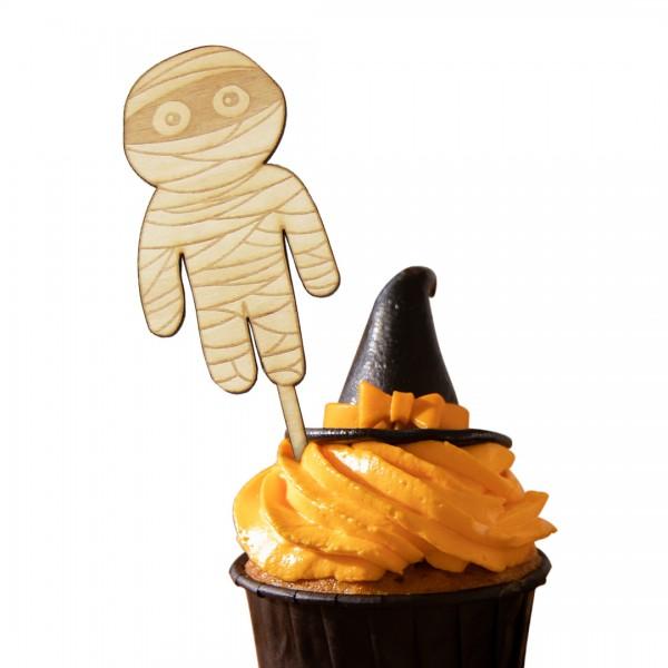 """Cake Topper """"Mumie"""" in Muffin"""