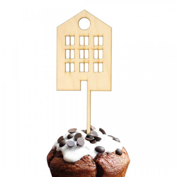 Cake Topper - Scandi Haus - Cozy