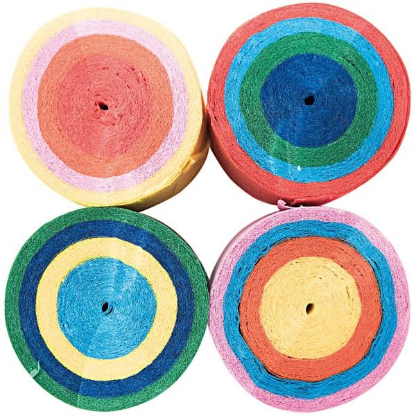 Kreppbänder Cake - Rainbow
