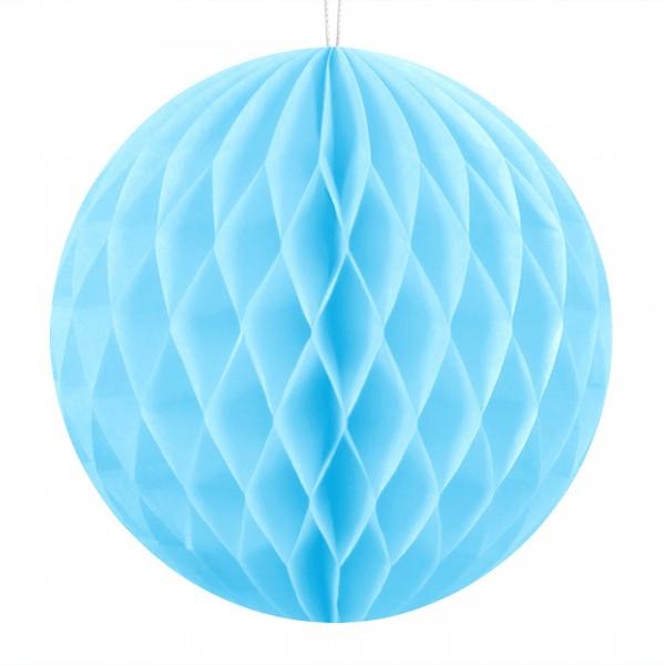 Wabenball in Blau