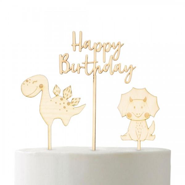"Cake Topper-Set ""Dino"""