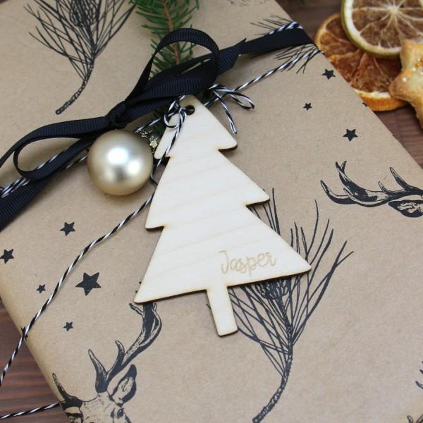 Anhänger   Weihnachtsbaum   personalisierbar