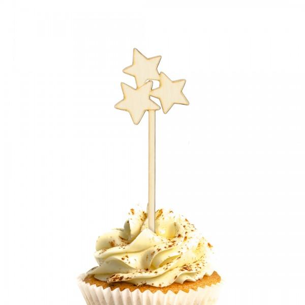 Unser wunderschöner Milchstraße - Cake Topper auf einem Muffin