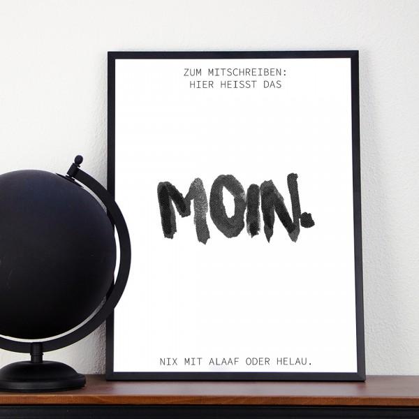 Kunstdruck | Typographie | moin