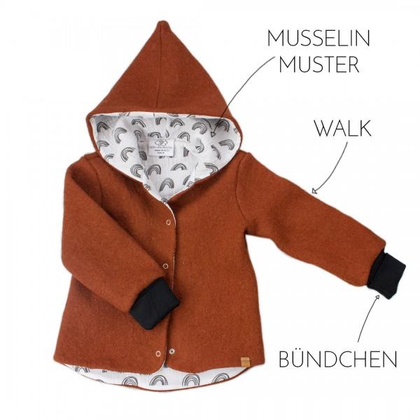 Deine Walkjacke Zipfelmütze - Wunschkombi Muster