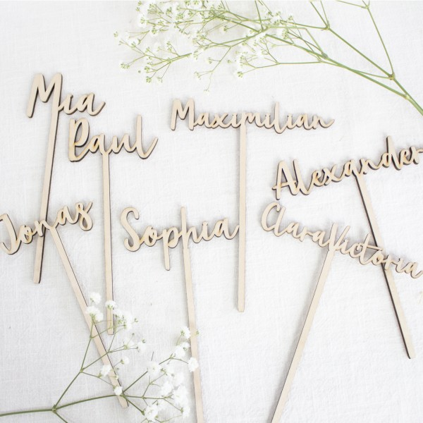 Cake Topper - Wunschname