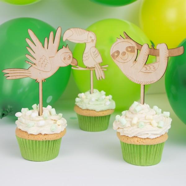 Cake Topper - Dschungel - Wunschmotiv