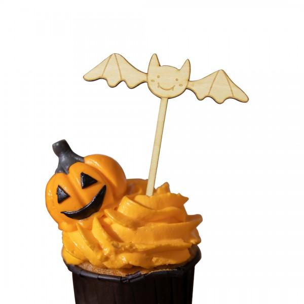 """Cake Topper """"Fledermaus"""" auf Muffin"""