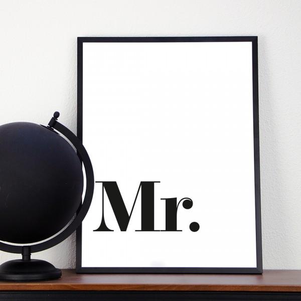 Kunstdruck   Typographie   Mr.