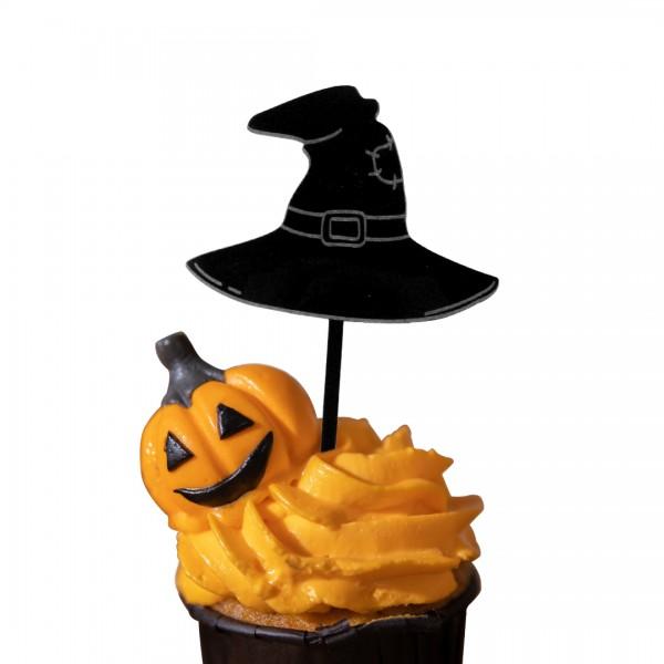 Cake Topper Acryl | Halloween | Hexen Hut