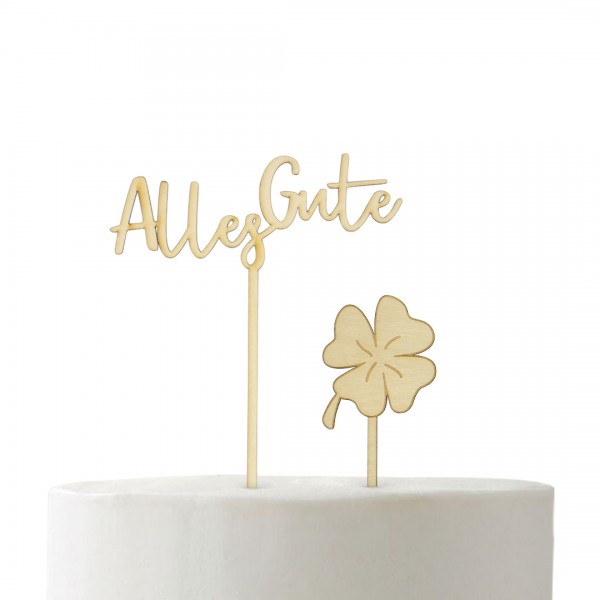 "Set ""Alles Gute"" | Cake Topper"