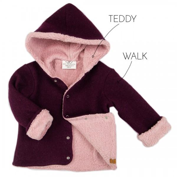 Deine Walkjacke - Wunschkombi Teddy