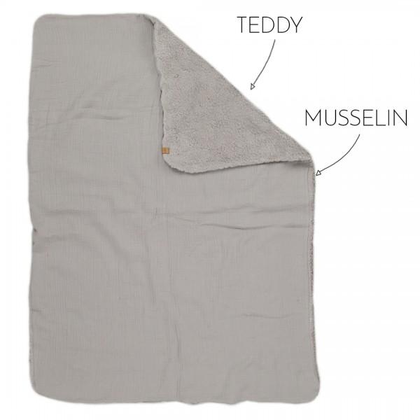 Dein Design - Babydecke groß - Wunschfarbe