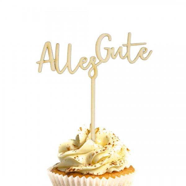 Cake Topper - Alles Gute